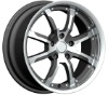 16inch 17inch silver car alloy wheels