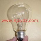 E27 clear incandescent bulb