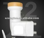 The best universal ku band twin lnb/lnbf
