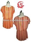 2012 Lady's Summer Stripe Chiffon Dress