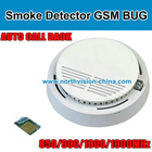 Smoke detector gsm bug listening device with call back function