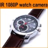waterproof,night vision,full hd1080p watch camera 8gb