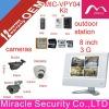 8 inch color wired 3G video door phone color door phones MIC-VPY04