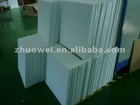 Mini pleat fiberglass pack with excellent V shape