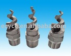 Stainless spiral fire nozzles