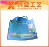 The blue lovely handle non woven bag